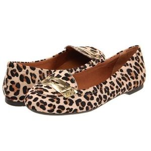 Sperry Top-Sider Brooks Pony Hair Leopard Loafers